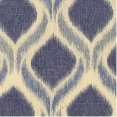 This Duralee fabric is a modern ikat print