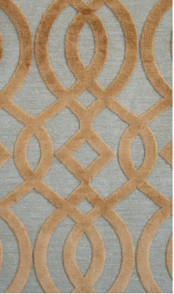 This Osborne & Little fabric is calming and natural colored