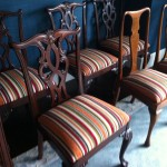 Matching Vintage Dining Chairs 1