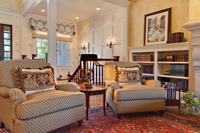 Interior design book called Living Color featuring the traditional interior design of Boston Interior Designer Gary McBournie.