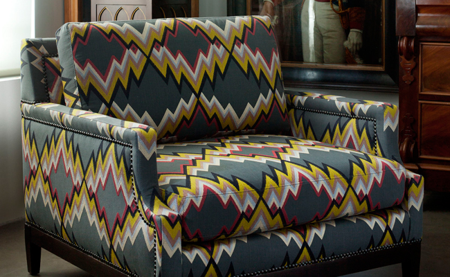 Fabrics for interior design by Gaston y Daniela - Bilbao - Donana in gris - Brunschwig & Fils