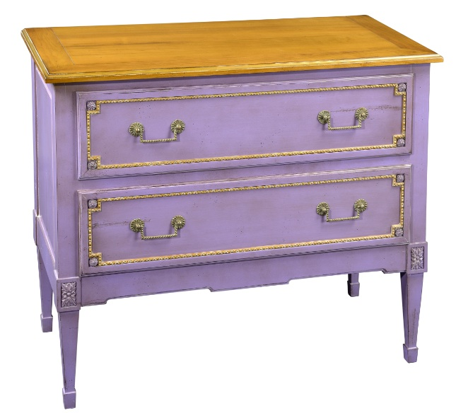 Grange 2-drawer chest in radiant orchid Pantone's 2014 color of the year