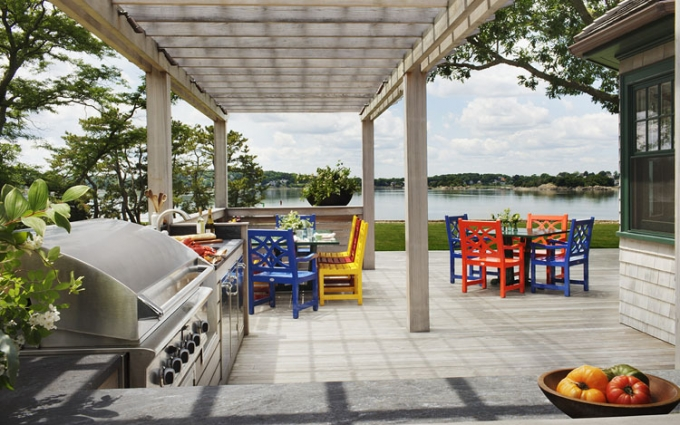 Contemporary Waterfront,
