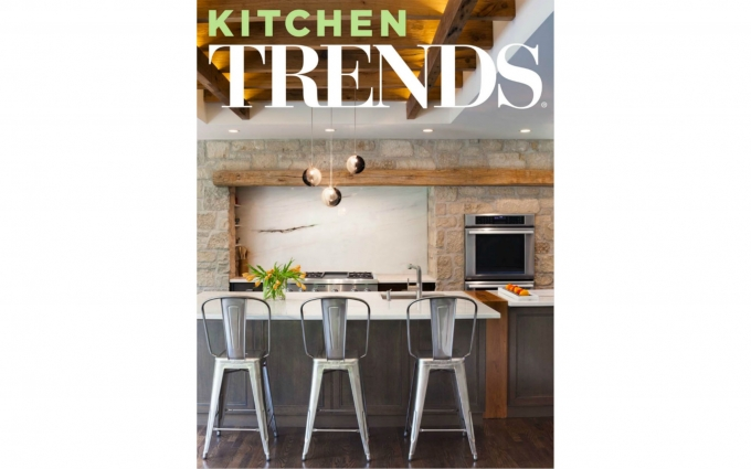 This issue of Trends Kitchen features a Martha's Vineyard kitchen designed by Boston interior designer Elizabeth Swartz Interiors, utilizes careful space planning and beautiful finishes to create a seaside kitchen that is long on both function and style.