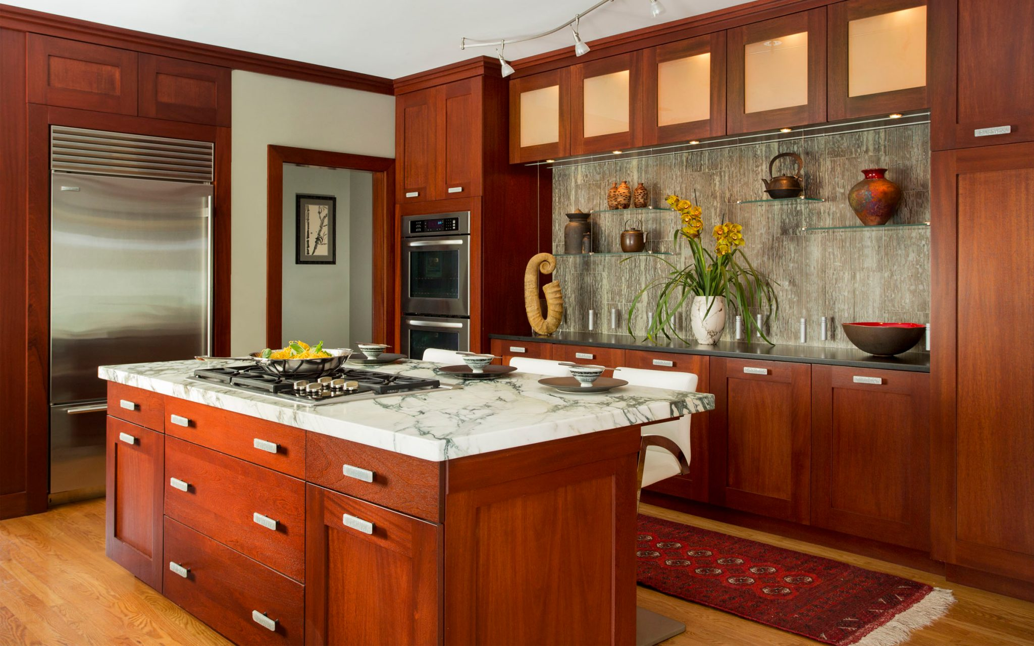 Colorful Kitchen Design Ideas 10 from Boston interior designer Elizabeth Swartz Interiors