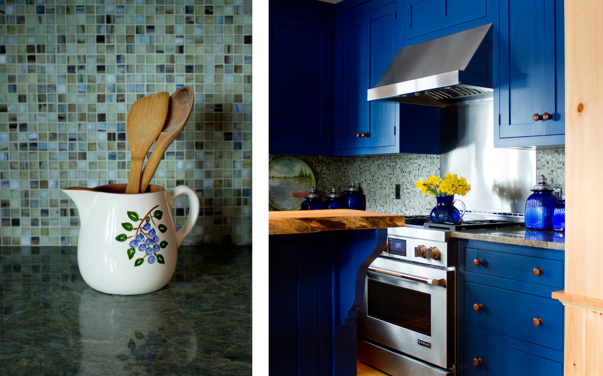 Colorful Kitchen Design Ideas 4 from Boston interior designer Elizabeth Swartz Interiors