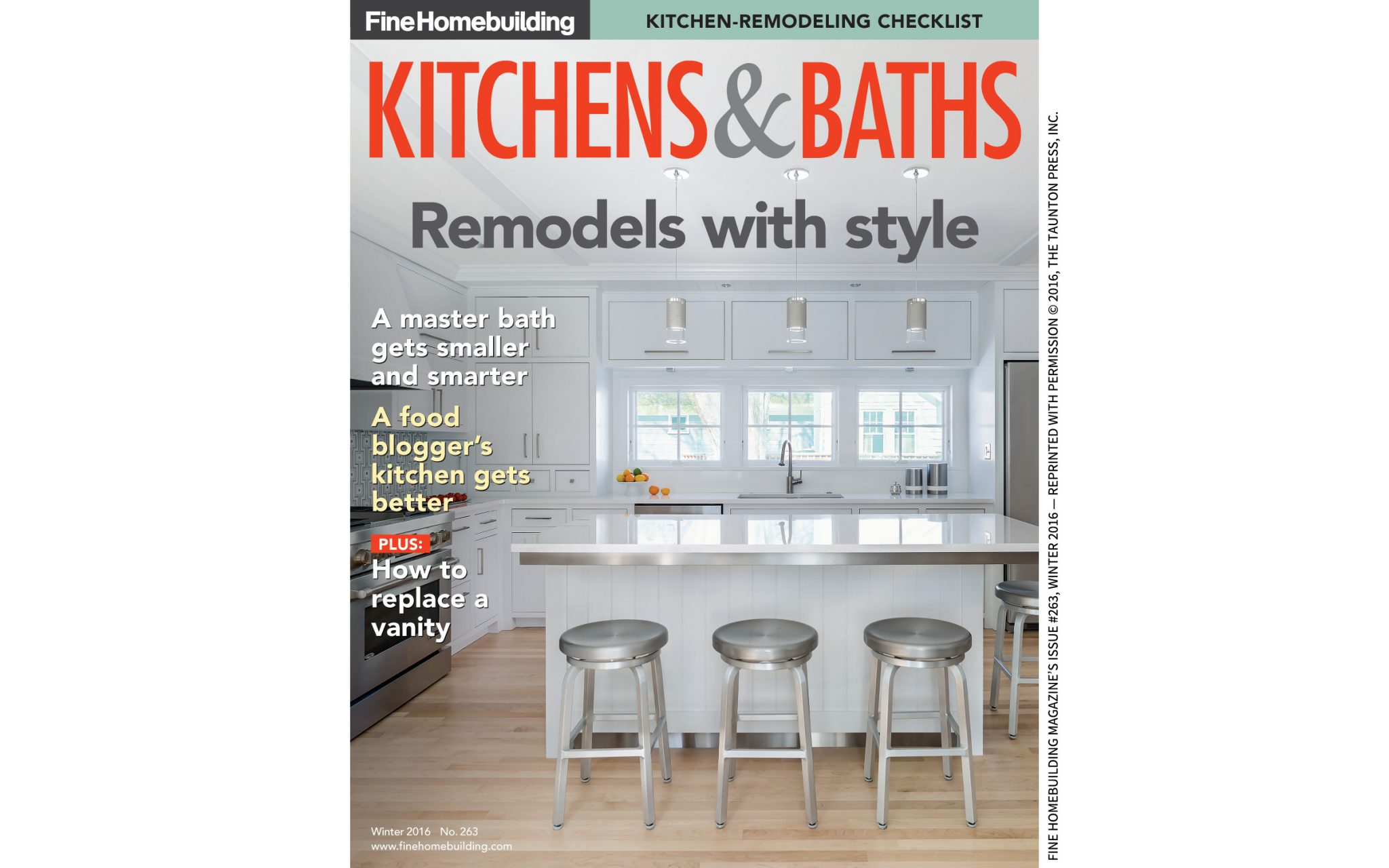 Fine homebuilding kitchens baths elizabeth swartz for Homebuilding com