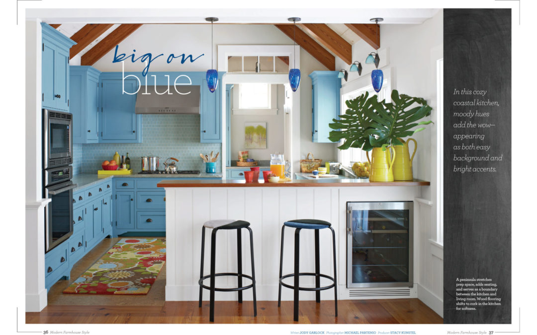 Better Homes and Gardens Modern Farmhouse Style Magazine - Big on Blue - Page 1