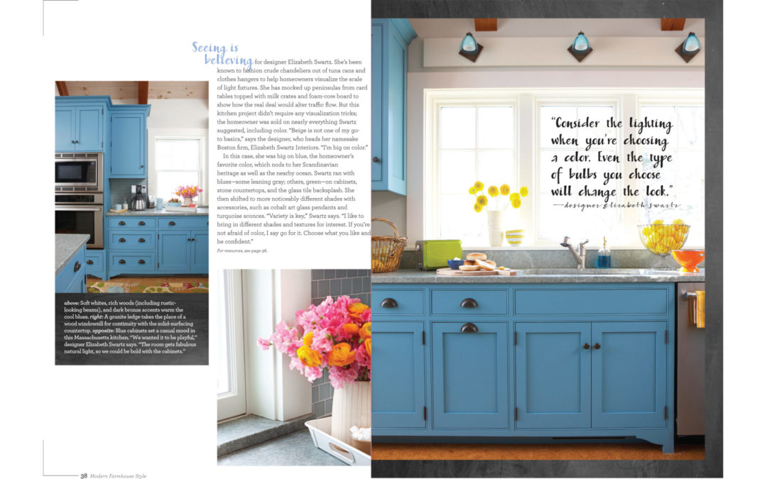 Better Homes and Gardens Modern Farmhouse Style Magazine - Big on Blue - Page 2