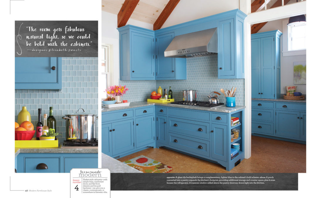 Better Homes and Gardens Modern Farmhouse Style Magazine - Big on Blue - Page 3